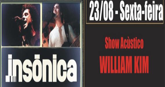 William Kim & Banda Insônica no palco do Republic Pub - Rota do Rock Eventos BaresSP 570x300 imagem