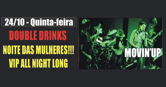 Banda Movin' Up leva rock para a quinta-feira do Republic Pub Eventos BaresSP 570x300 imagem