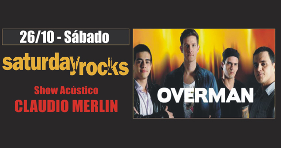 Sal Vincent & Banda Overman levam rock para o sábado do Republic Pub Eventos BaresSP 570x300 imagem