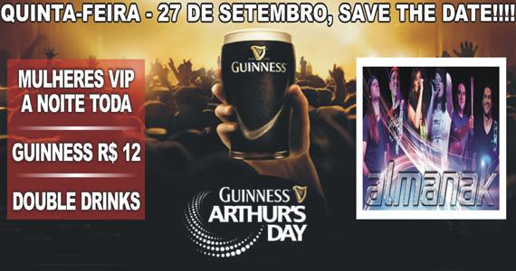 Republic Pub comemora Guinness Arthur s Day nesta quinta com promoções Eventos BaresSP 570x300 imagem