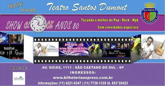 Clock Anos 80 apresenta o melhor da décade de ouro do pop, rock e MPB no Teatro Santos Dumont Eventos BaresSP 570x300 imagem