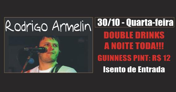 Rodrigo Armelin anima a noite com muito rock na quarta-feira do Republic Pub Eventos BaresSP 570x300 imagem