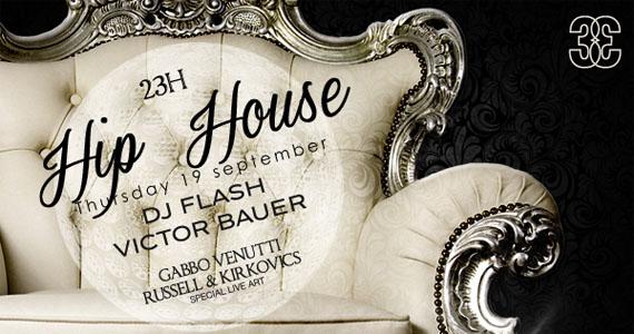 Festa Hip House agita a quinta-feira no Club 33, na Barra Funda Eventos BaresSP 570x300 imagem