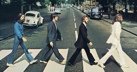 A banda Abbey Road sobe ao palco do Bourbon Street Music Club e interpreta sucessos dos Beatles Eventos BaresSP 570x300 imagem