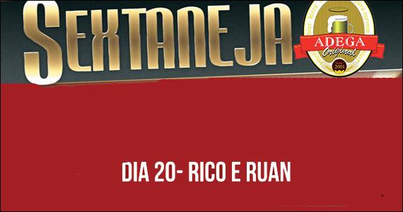Adega Original recebe na sexta-feira a dupla Rico e Ruan - Rota Sertaneja Eventos BaresSP 570x300 imagem