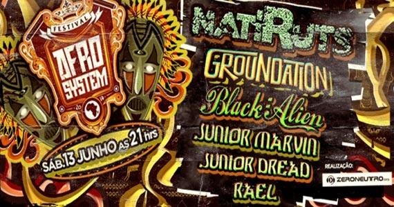 Festival Afro System acontece no Estância Alto da Serra com bandas de reggae, rap e hip hop Eventos BaresSP 570x300 imagem