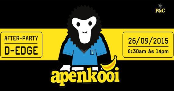 Apenkooi Brasil promove a Festa After Party com muitas atrações na D. Edge Eventos BaresSP 570x300 imagem