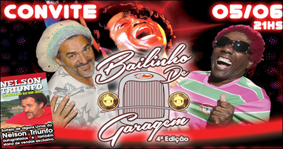 4° Edição do Bailinho de Garagem - Especial James Brown no Akbar Eventos BaresSP 570x300 imagem