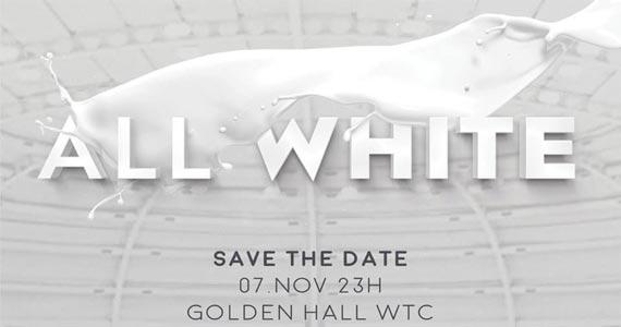 Golden Hall apresenta Festa All White com Dj Pete Tha Zouk e convidados Eventos BaresSP 570x300 imagem