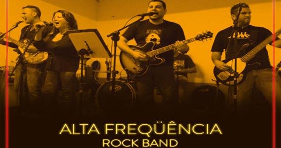 Banda Alta Frequência toca muito Pop/Rock no palco do B Music Bar na quinta Eventos BaresSP 570x300 imagem