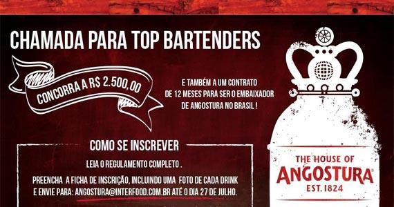 Noh Bar realiza a Etapa Brasil do Desafio de Coquetelaria da Angostura Global Cocktail Challenge 2016 Eventos BaresSP 570x300 imagem