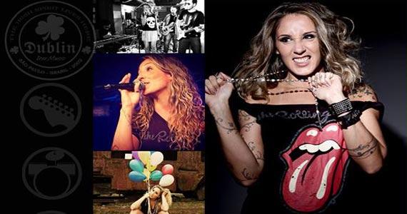 Anna Lu & Eles tocam muito Rock'n Roll na noite do Dublin  Eventos BaresSP 570x300 imagem