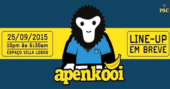 Festa Apenkooi Brasil promete uma noite com muita música no Espaço Villa Lobos Eventos BaresSP 570x300 imagem