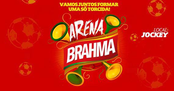 Projeto Arena Brahma nos jogos da Copa do Mundo no Jockey Club de São Paulo Eventos BaresSP 570x300 imagem
