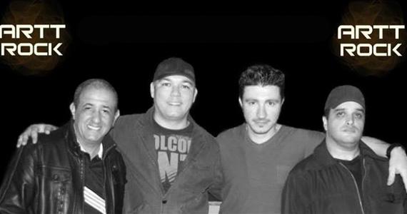 Apresentação da banda Artt Rock no palco do Kabala Pub - Rota do Rock Eventos BaresSP 570x300 imagem