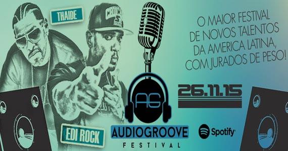 Audio Club apresenta o Audiogroove com o cantor Thaíde, Dexter, Edi Rock e convidados Eventos BaresSP 570x300 imagem
