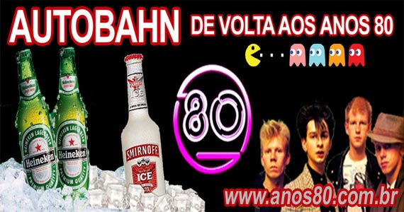 Autobahn realiza Mega Festa dos Anos 80 com edição especial Depeche Mode e Erasure Eventos BaresSP 570x300 imagem