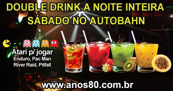 Autobahn realiza Mega Festa dos Anos 80 com Double Drink a noite inteira Eventos BaresSP 570x300 imagem