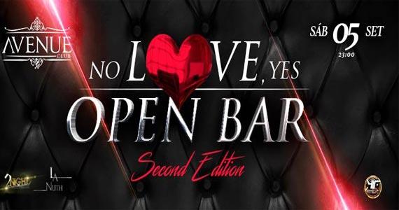 Avenue Club promove a Festa No Love Yes Open Bar com muitas atrações Eventos BaresSP 570x300 imagem