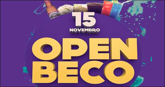 Beco 203 oferece noite com open bar de variedades de bebidas  Eventos BaresSP 570x300 imagem