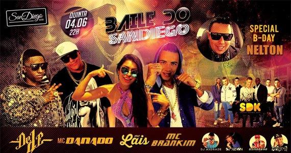 Baile do San Diego anima com MC Danado e convidados animando o San Diego Bar Eventos BaresSP 570x300 imagem