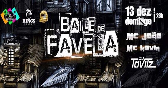 Caribbean realiza o Baile de Favela com MC João e convidados Eventos BaresSP 570x300 imagem