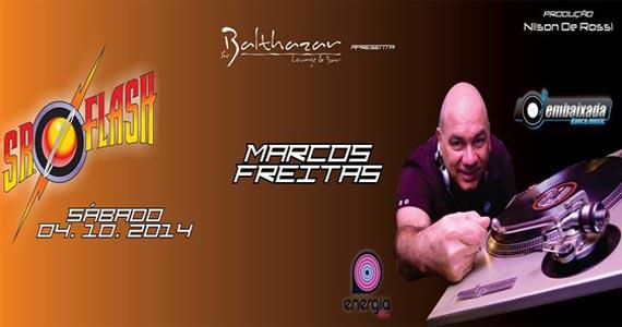 Sr. Flash com DJ Marcos Freitas e Nilson de Rossi com muito flash back no Sr. Balthazar Eventos BaresSP 570x300 imagem