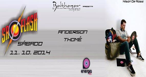 Projeto Sr. Flash com DJs Alex Pazini e Anderson Thomé neste sábado no Sr. Balthazar Eventos BaresSP 570x300 imagem