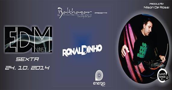 EDM Fest com DJ Ronaldinho nas pick-ups nesta sexta-feira no St. Balthazar Eventos BaresSP 570x300 imagem
