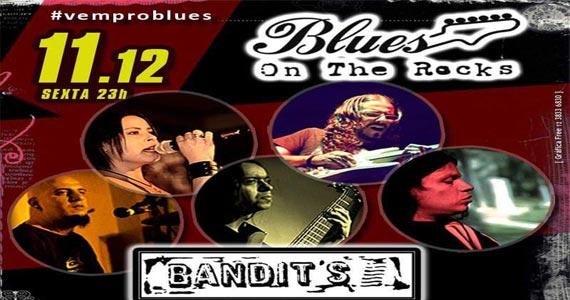 Banda Bandits toca muito rock no Blues on The Rocks na sexta Eventos BaresSP 570x300 imagem