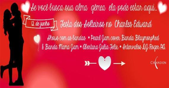 Comemoração Dia dos Namorados com Banda Mama Jam e convidados agita o Bar Charles Edward Eventos BaresSP 570x300 imagem