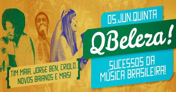 Festa Q Beleza com sucessos da música brasileira nesta quinta no Beco 203 Eventos BaresSP 570x300 imagem
