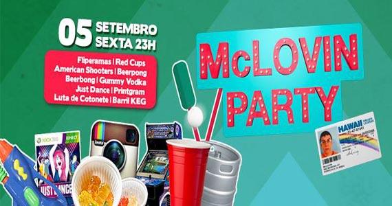 Festa McLovin Party agita a sexta-feira no Beco 203 com brincadeiras e música boa Eventos BaresSP 570x300 imagem