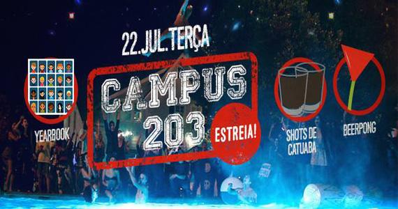 Festa Campus 203 estreia nesta terça-feira com line-up especial no Beco 203 Eventos BaresSP 570x300 imagem