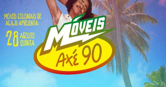 Projeto Móveis Axé 90 com músicas clássicas do axé nesta quinta-feira no Beco 203  Eventos BaresSP 570x300 imagem