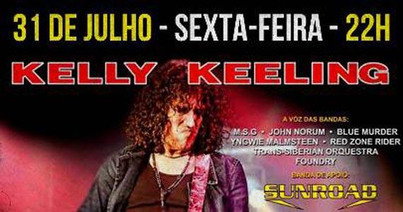 Balckmore recebe a atração internacional: Kelly Keeling tocando muito Rock Eventos BaresSP 570x300 imagem