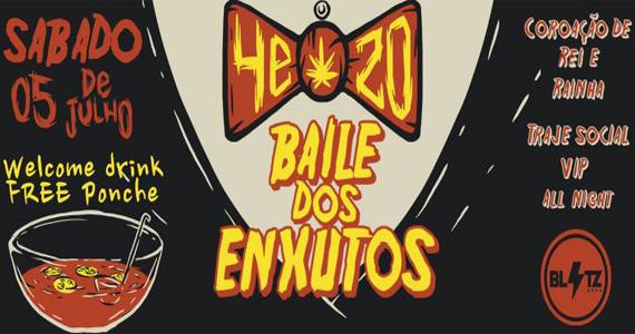 Baile dos Enxutos com line-up especial neste sábado na Blitz Haus Eventos BaresSP 570x300 imagem