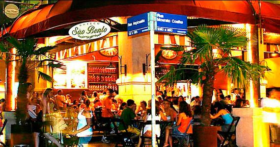 Happy hour com chopp gelado no Boteco São Bento na Vila Madalena Eventos BaresSP 570x300 imagem