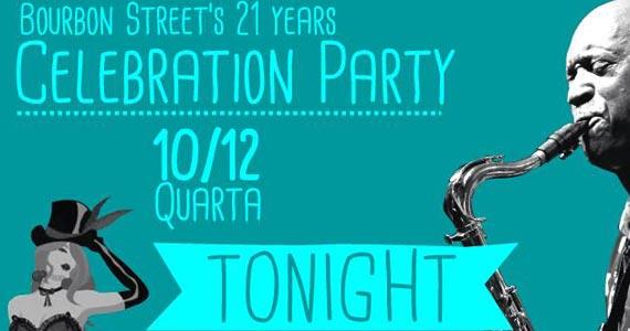 Bourbon Street comemora 21 anos com show de Gary Brown nesta quarta-feira Eventos BaresSP 570x300 imagem