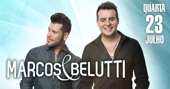 Dupla Marcos & Belutti apresenta seus sucessos no palco da Brook's SP nesta quarta-feira Eventos BaresSP 570x300 imagem