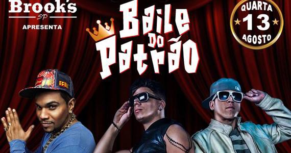 Bailão do Patrão com cantor Naldo Benny e MC Pikeno e Menor na Brooks SP Eventos BaresSP 570x300 imagem