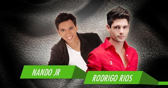 Nando Jr. e Rodrigo Rios animam a noite de sexta-feira na Brook's SP Eventos BaresSP 570x300 imagem