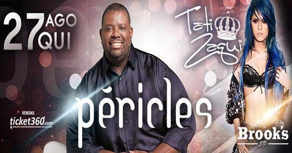 Brooks recebe o show do cantor Péricles e da MC Tati Zaqui na quinta Eventos BaresSP 570x300 imagem