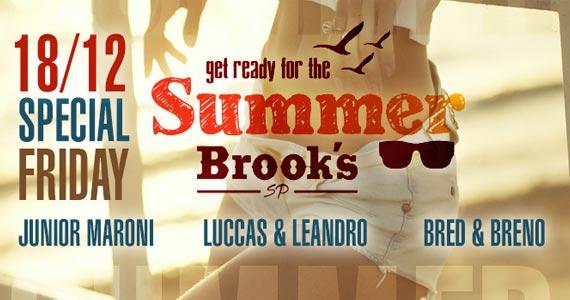 Brooks realiza a festa Get Ready for Summer com Bred & Breno e convidados Eventos BaresSP 570x300 imagem