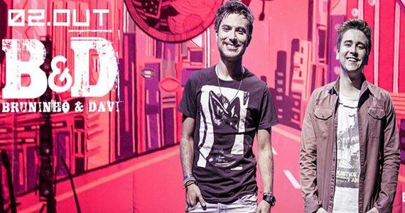 Bulls Club apresenta show da dupla Bruninho & Davi agitando a sexta Eventos BaresSP 570x300 imagem
