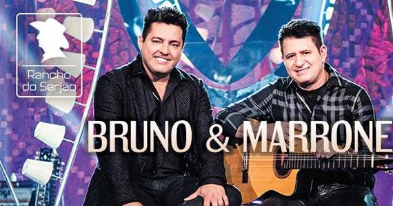 Rancho do Serjão recebe show de Bruno & Marrone cantando sucessos Eventos BaresSP 570x300 imagem