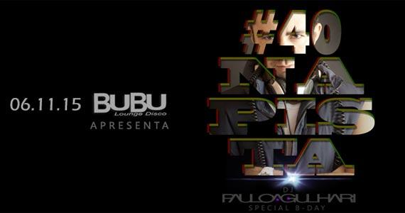 Festa Fun International realiza aniversário do DJ Paulo Agulhari na Bubu Lounge Disco Eventos BaresSP 570x300 imagem