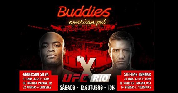 Buddies American Pub transmite as lutas do UFC Rio 3 Eventos BaresSP 570x300 imagem