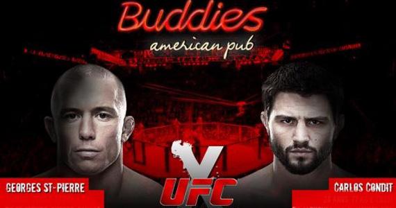 Buddies exibe neste sábado a edição 154 do UFC Eventos BaresSP 570x300 imagem