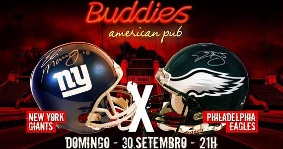 Buddies American Pub exibe jogo da Liga Nacional de Futebol Americano Eventos BaresSP 570x300 imagem